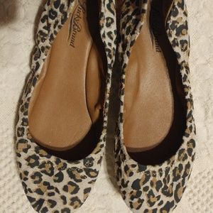 Lucky Brand Animal Leopard Emmie Flats Size 7